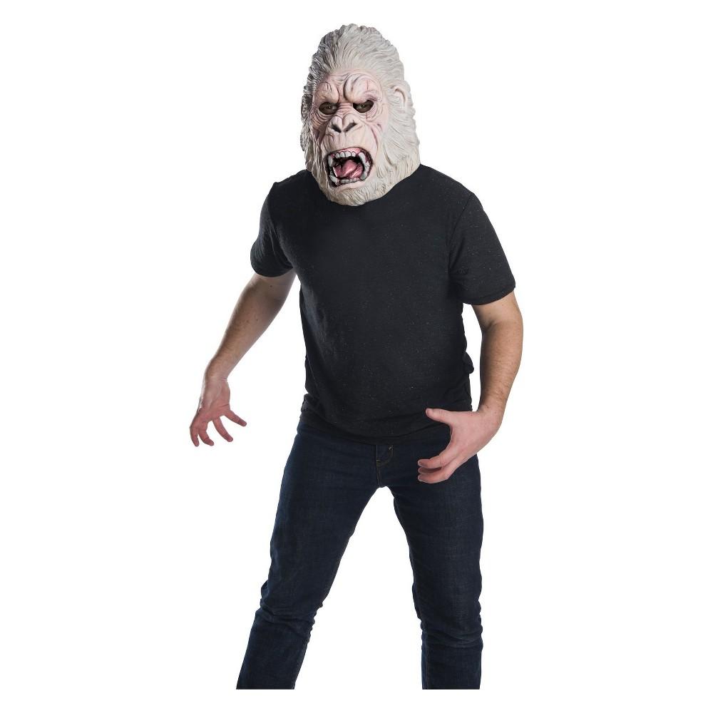 Adult Rampage George Overhead Costume Latex Mask, Men's, Multi-Colored