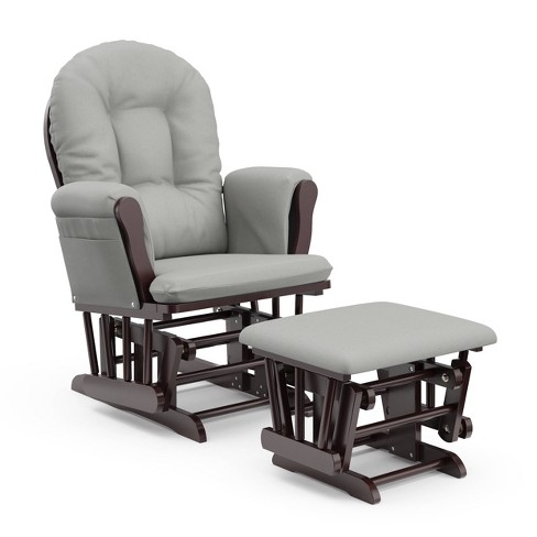 Storkcraft Hoop Glider and Ottoman - image 1 of 4