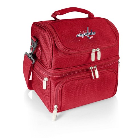 NHL Washington Capitals Pranzo Dual Compartment Lunch Bag - Red - image 1 of 4