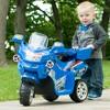 Lil' Rider 3 Wheel Battery Powered FX Sport Bike - Blue - image 3 of 3