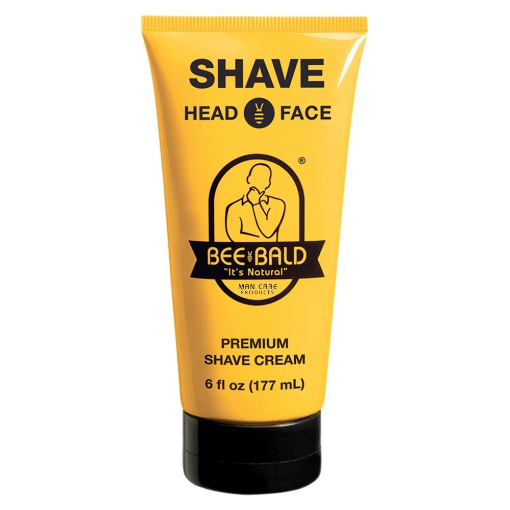 Image of Bee Bald Premium Shave Cream - 6 fl oz