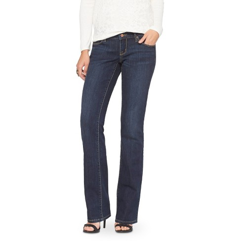 Women's Low Rise Bootcut Jeans - Mossimo - image 1 of 2
