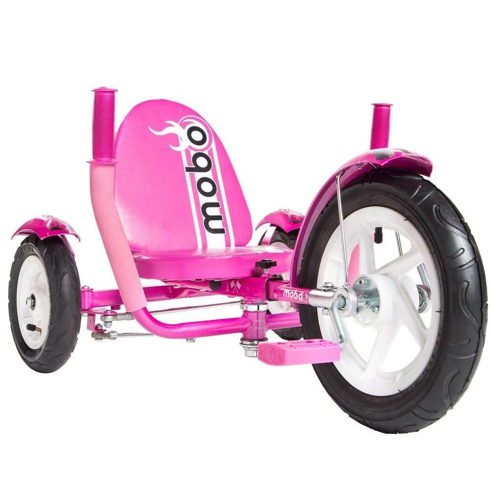 Mobo Mity Sport Three Wheeled Kids 39 Cruiser Tricycle Pink