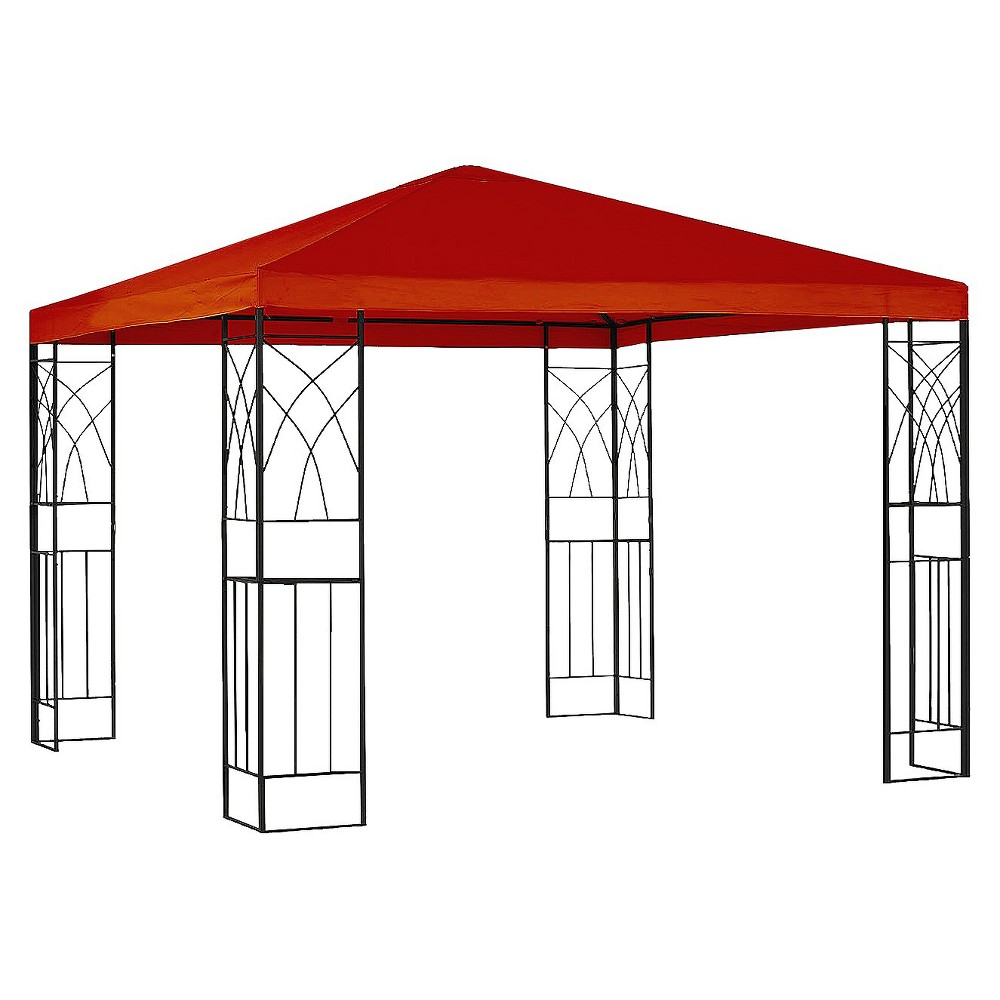 10x10' Replacement Gazebo Canopy - Red - Room Essentials