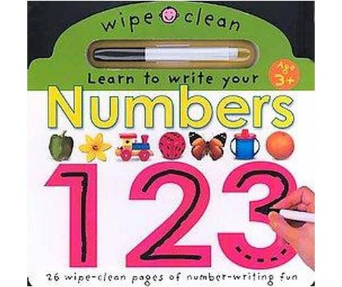 Learn To Write Your Numbers (Hardcover) - image 1 of 1