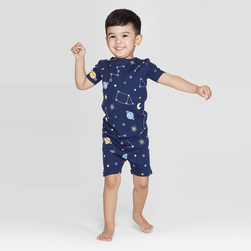 Toddler Space Family Pajama Set - Blue - image 1 of 2