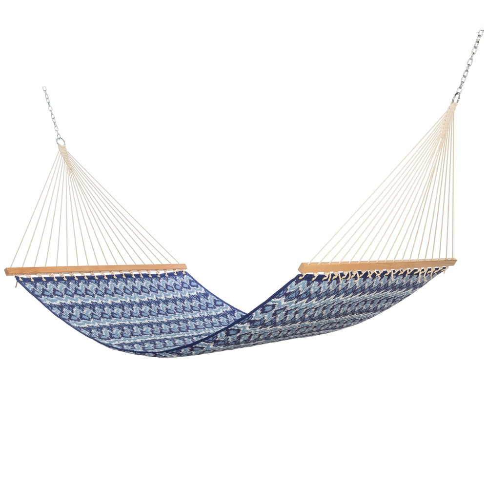 Image of Quilted Hammock with Spreader Bar - Natural - Threshold