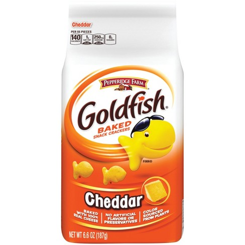 Pepperidge Farm Goldfish Cheddar Crackers - 6.6oz - image 1 of 6