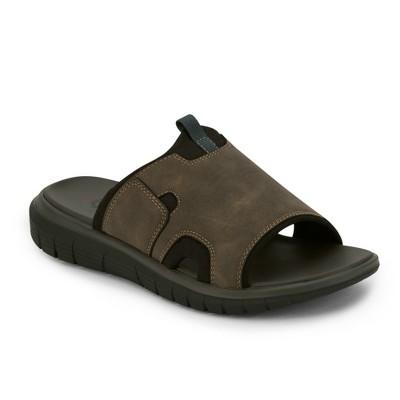 Dockers Mens Shawn SupremeFlex Slide Sandal