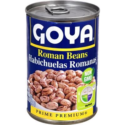 Goya Roman Beans - 15.5oz