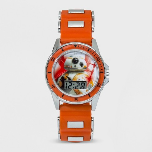 Boys' Star Wars BB-8 LCD Watch - Orange - image 1 of 2