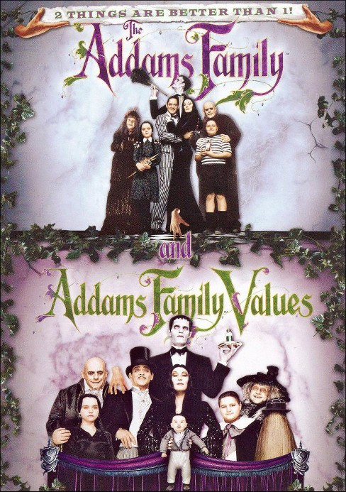 Addams Family/Addams Family Values (dvd_video) - image 1 of 1