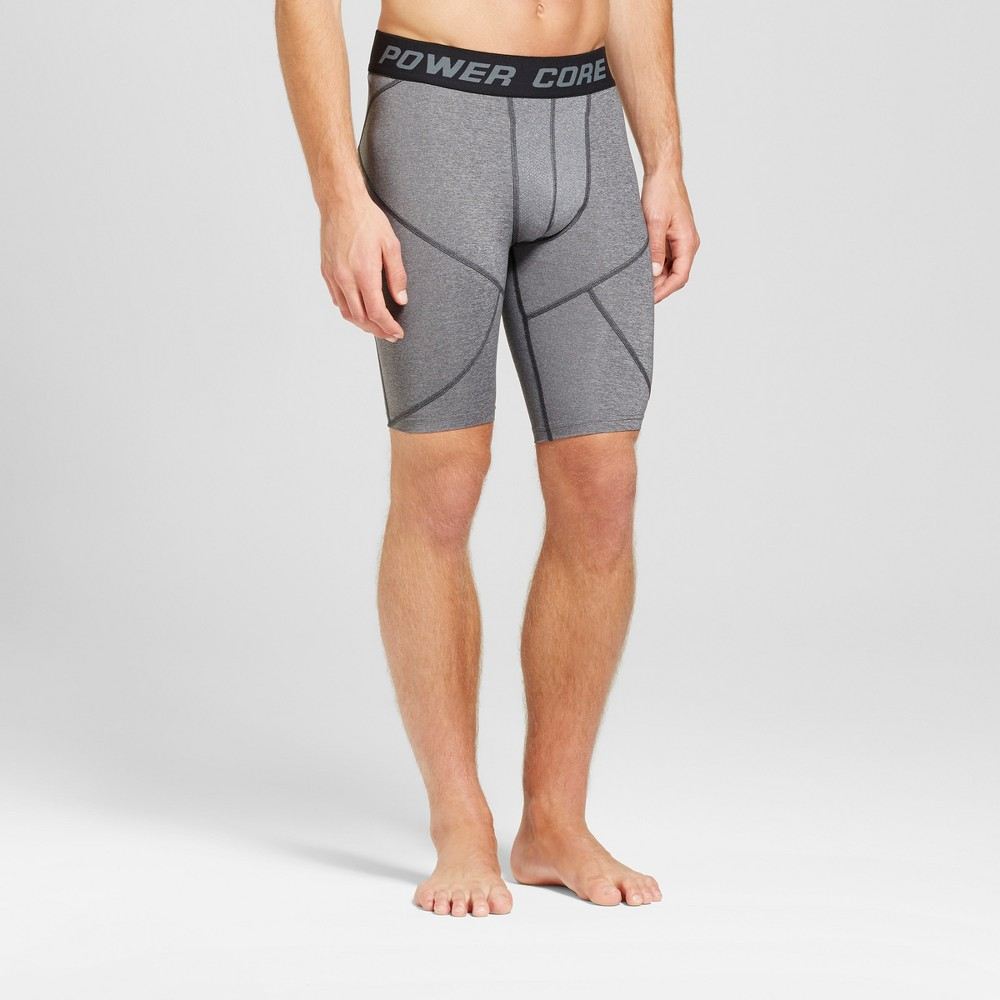 Men's 11 Compression Shorts - C9 Champion Charcoal Heather L