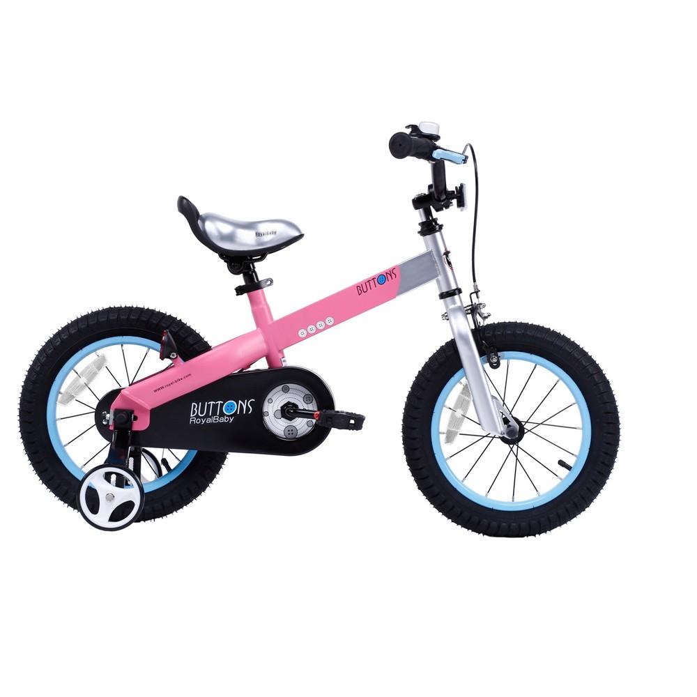 RoyalBaby Matte Buttons 16 Bike - Pink