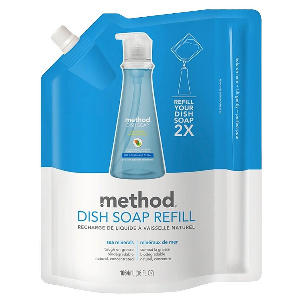 Method Sea Minerals Scent Liquid Dish Soap Refill 36 oz