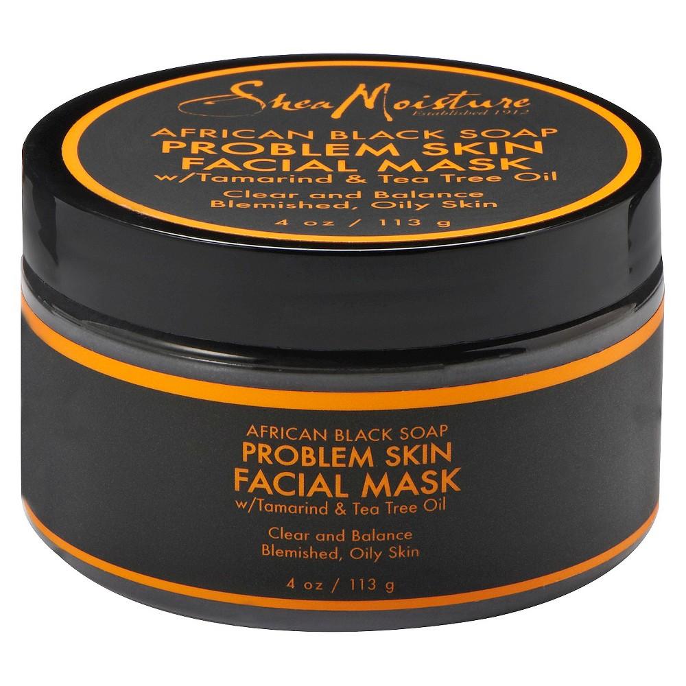 SheaMoisture African Black Soap Problem Skin Facial Mask, Grey