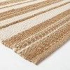 Riverton Hand Woven Striped Area Rug Tan - Threshold™ designed with Studio McGee - image 3 of 4