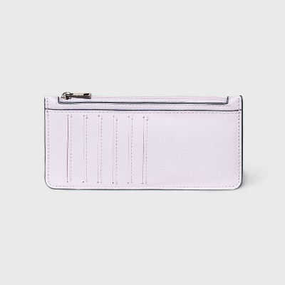 Zip Closure Large Card Case - A New Day™ Lilac