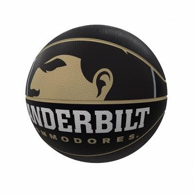 NCAA Vanderbilt Commodores Mascot Official-Size Rubber Basketball
