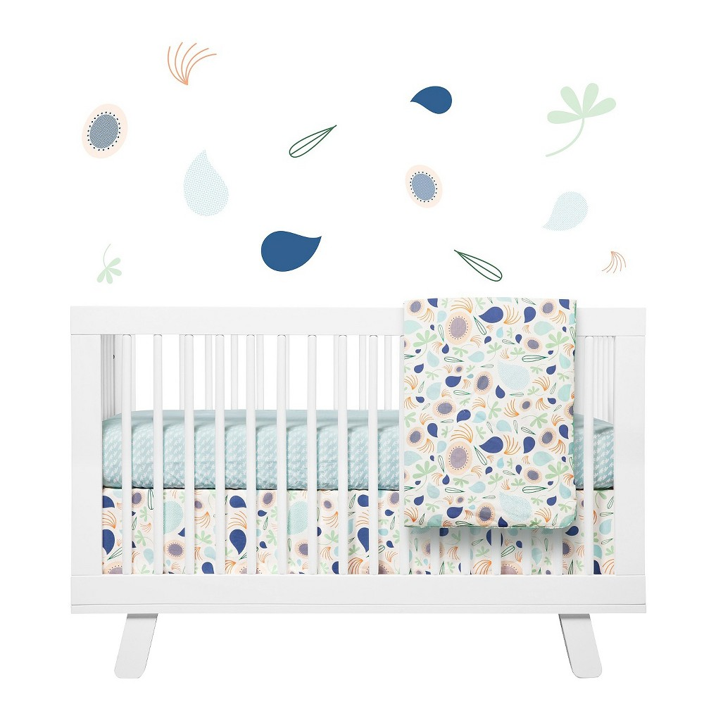 Image of Babyletto Fleeting Flora Crib Skirt