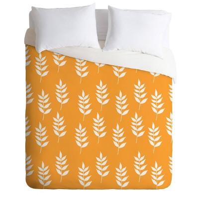 Deny Designs Joy Laforme Summer Garden Mini Leaf Comforter Set