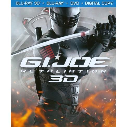 G.I. Joe: Retaliation [3 Discs] [Includes Digital Copy] [UltraViolet] [3D/2D] [Blu-ray/DVD] - image 1 of 1