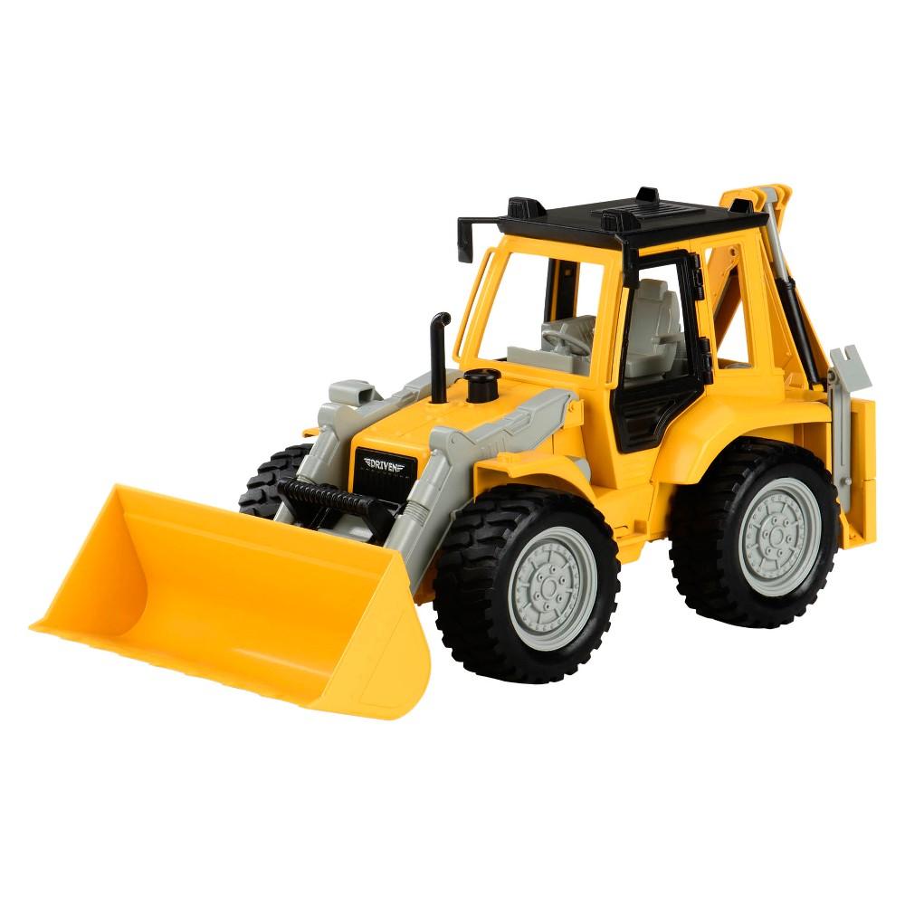 Driven 8211 Toy Digger Truck 8211 Backhoe Loader 8211 Midrange Series