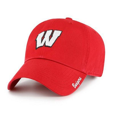 NCAA Wisconsin Badgers Women's Brushed Cotton Relaxed Fit Hat