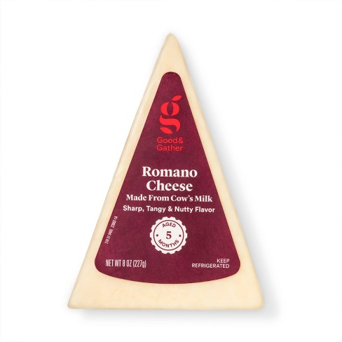 Romano Cheese Wedge - 8oz - Good & Gather™ - image 1 of 2