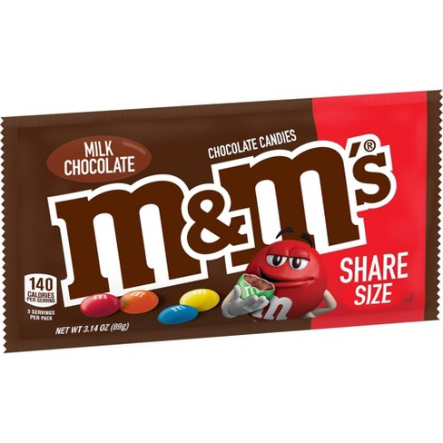 M&M's King Size Milk Chocolate Candies - 3.14oz - image 1 of 4