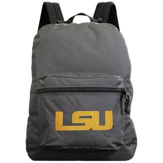 NCAA LSU Tigers Gray Premium Backpack