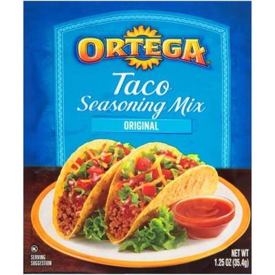 Ortega Taco Seasoning Mix 1.25oz