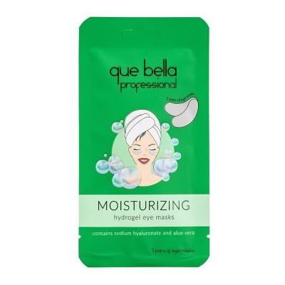 Que Bella Professional Moisturizing Gel Eye Mask - 6pc