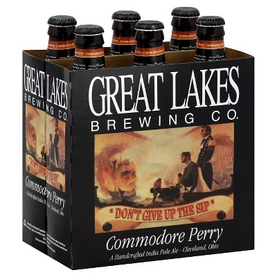 Great Lakes Commodore Perry IPA Beer - 6pk/12 fl oz Bottles