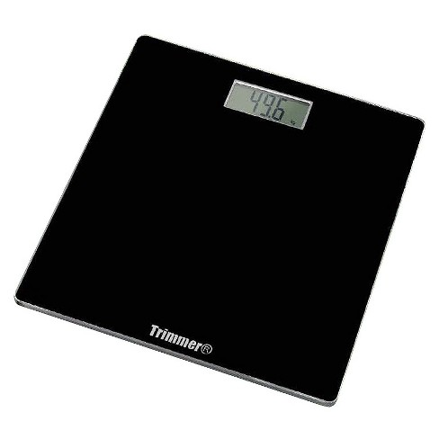 Super Thin Digital Scale Black - Trimmer - image 1 of 1