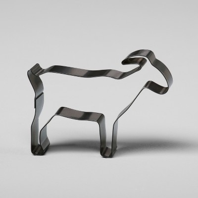Stainless Steel Goat Cookie Cutter - Black - Hearth & Hand™ with Magnolia