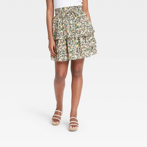 Women's Mini Skirt - Who What Wear™ - image 1 of 3