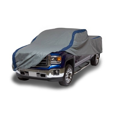 """Duck Covers 22"""" Weather Defender Pickup Truck Automotive Exterior Cover Gray/Blue"""