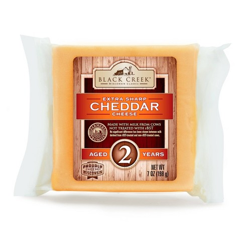 Black Creek Extra Sharp Cheddar Cheese Aged 2 Years - 7oz - image 1 of 3