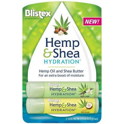 Blistex Hemp and Shea Hydration - 0.3oz - image 1 of 4