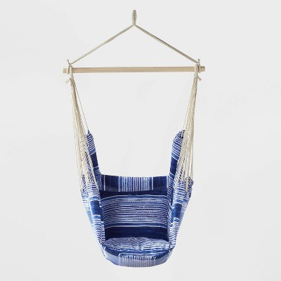 Pillow Top Hammock Chair with Spreader Bar - Blue - Threshold™