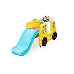 Little Tikes Baby Bum Wheels on the Bus Climber and Slide with Interactive Musical Dashboard