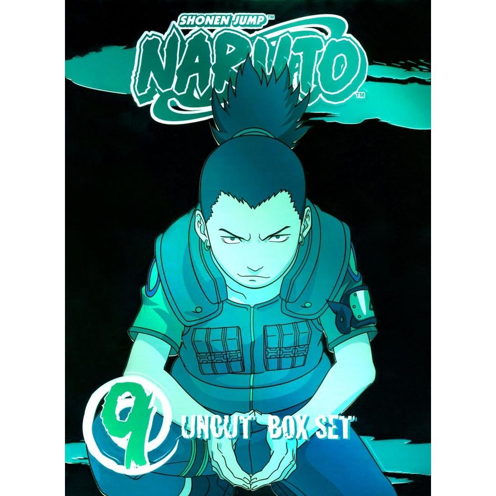 Naruto Uncut Box Set Vol 9 (Dvd)