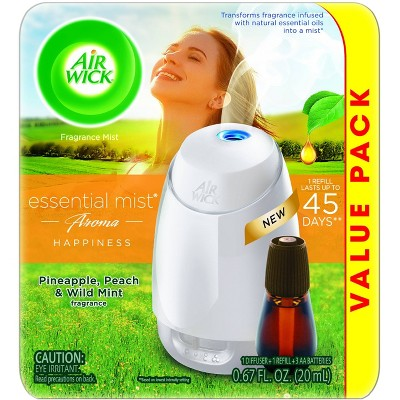 Air Wick Essential Mist Aroma Starter Kit - 2pc/0.67 fl oz
