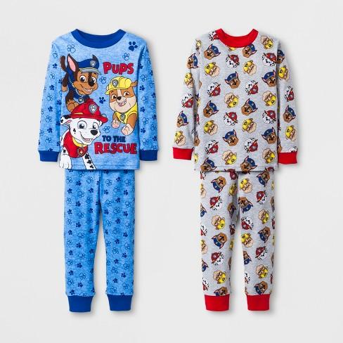 bbfd7542c25b Toddler Boys  PAW Patrol Pajama Set - Blue 4T   Target