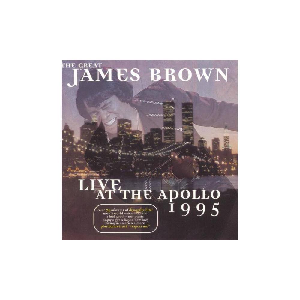 Brown James James Joseph Brow Live At The Apollo 1995 Cd
