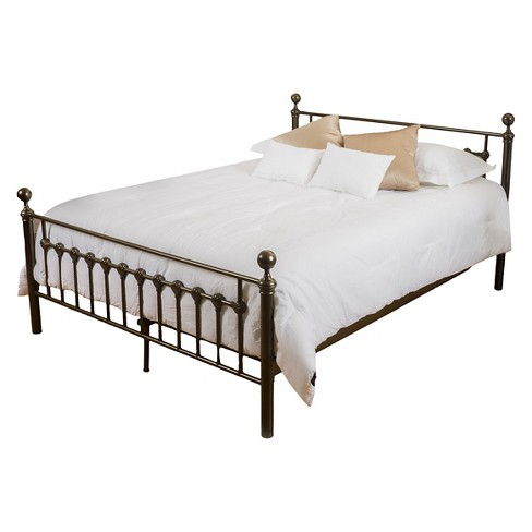 Seiman Iron Bed King Dark Copper Gold - Christopher Knight Home - image 1 of 4