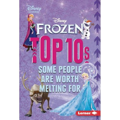 Frozen Top 10s - (My Top 10 Disney) by  Mary Lindeen (Hardcover) - image 1 of 1