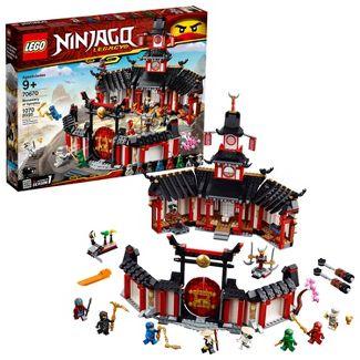 LEGO NINJAGO Legacy Monastery of Spinjitzu Ninja Model with NINJAGO Minifigures 70670