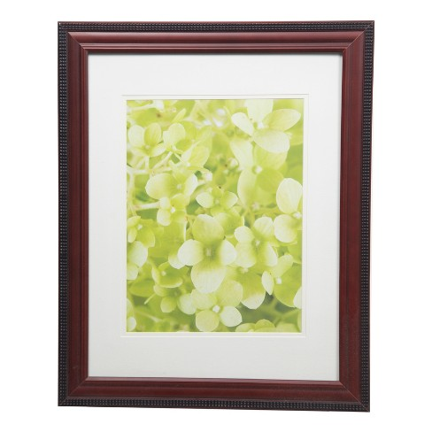 Single Image 14X18 To 10X13 Mohogany  Outer Bead Frame - Gallery Solutions - image 1 of 4